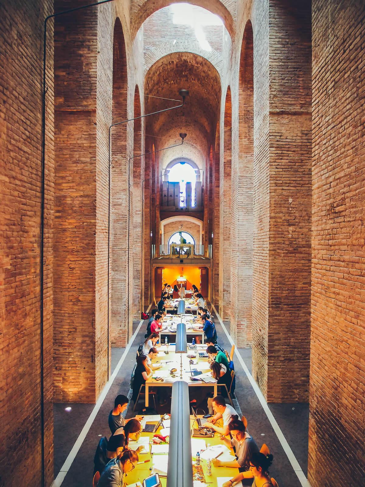 Les Aigues Water Reservoir Library Barcelona