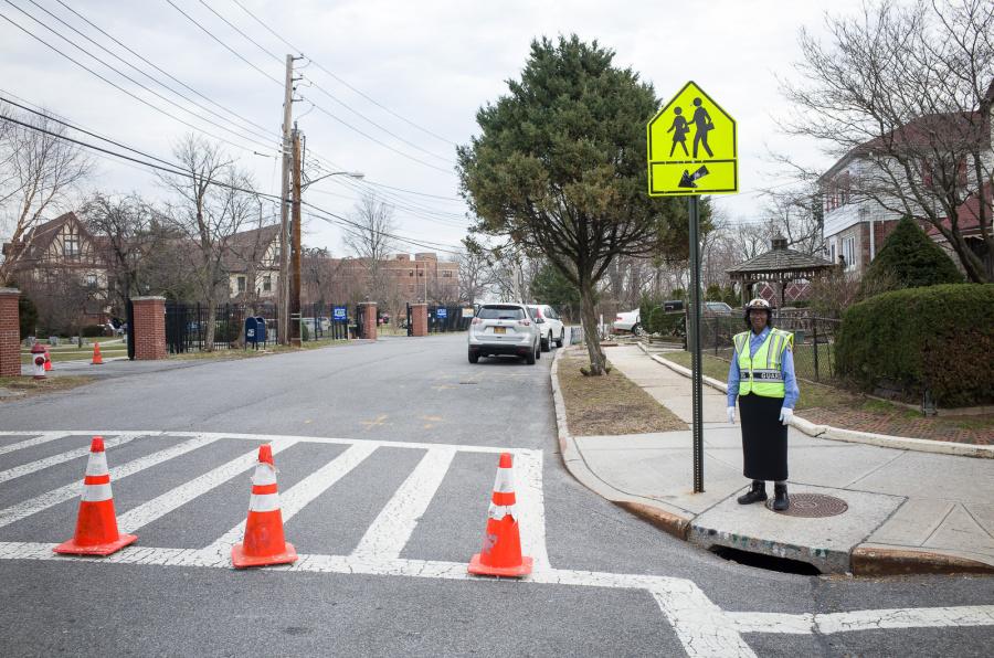 School Trespassing Guard - Exif Data: 1/160sec - f/5.6 - ISO-100