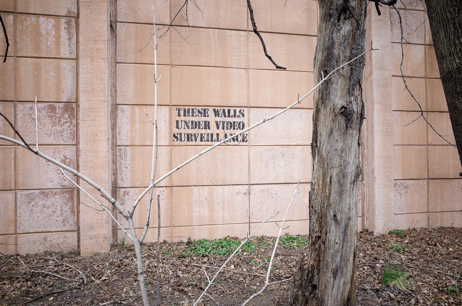 These Walls Under Video Serveillance
