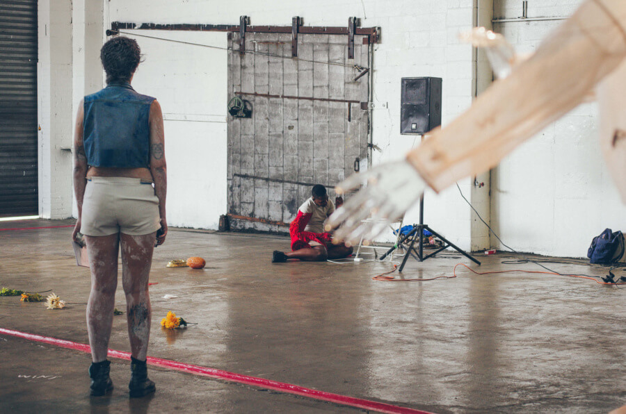 Live Artist Performance during the Bushwick Collective Block Party 2016