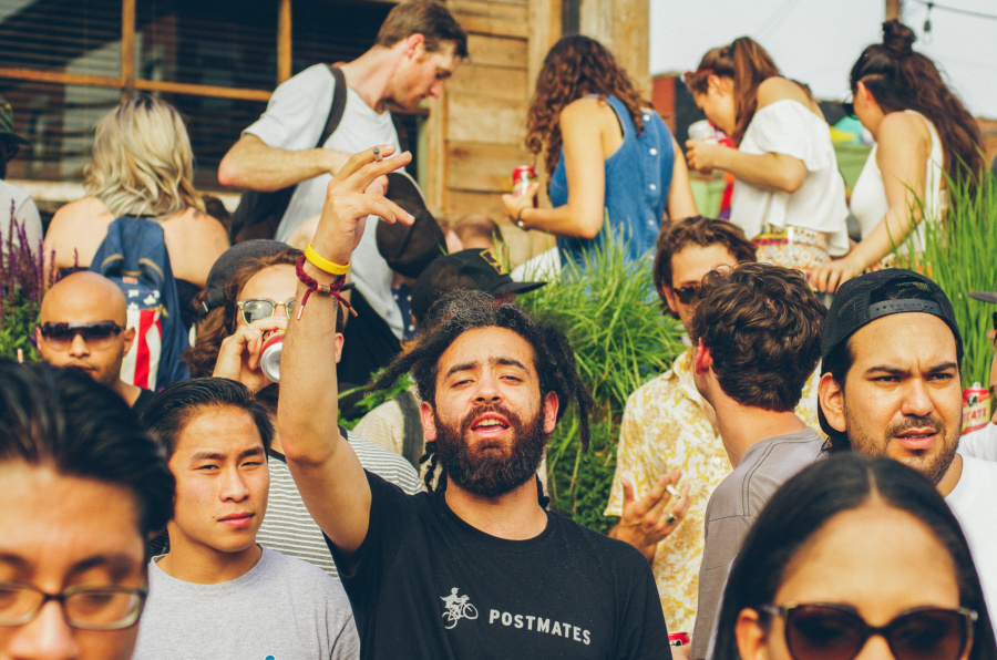 Party with Postmates on the Bushwick Collective Block Party 2016