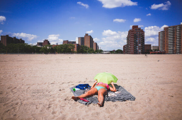 Coney Island Sunbath Summer