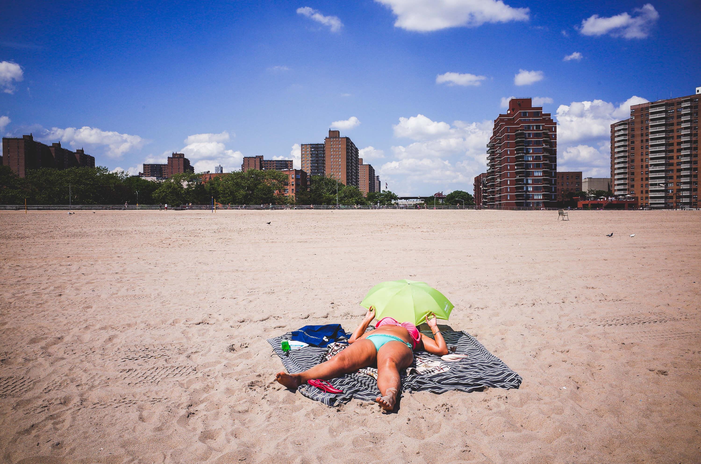 Coney Island Sunbath Summer