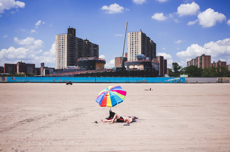 coney island sunbath summer michael kowalczyk photography. Black Bedroom Furniture Sets. Home Design Ideas