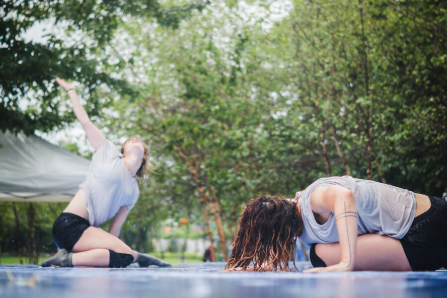 Migrations Performance Suite Dance Festival 2016 in Socrates Sculpture Park New York City