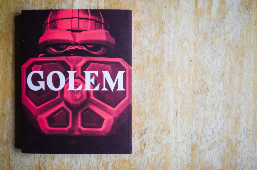 GOLEM Exhibition Catalog Back Page Cover