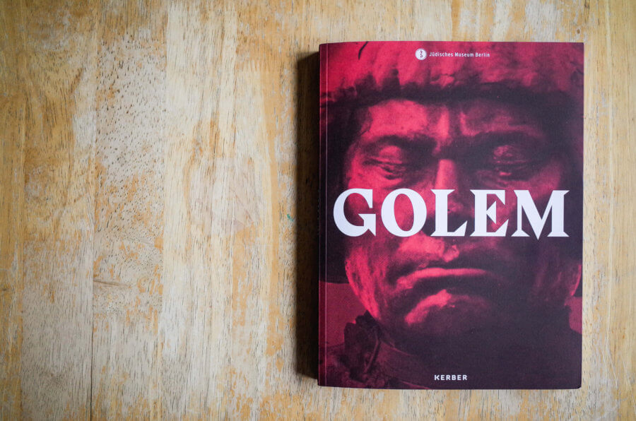 GOLEM Exhibition Catalog Front Page Cover
