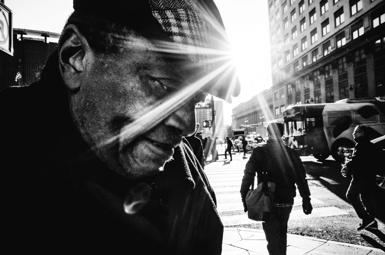 Black and white street photography portfolio
