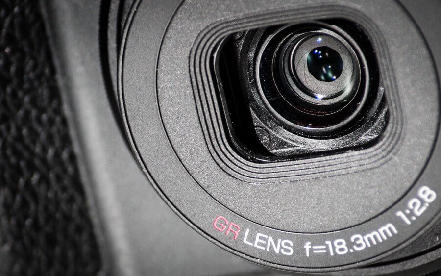 Ricoh GR Lens Closeup