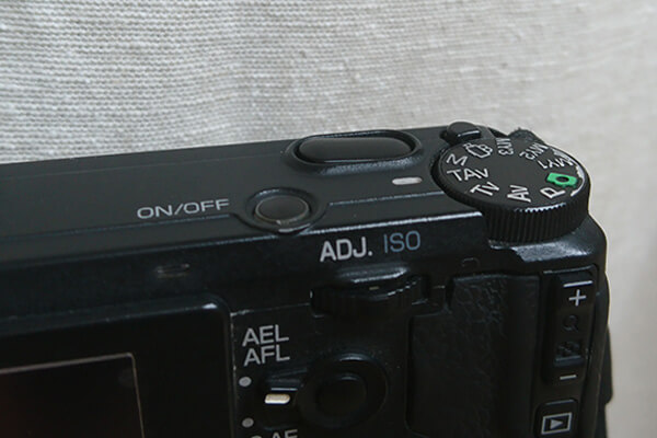 Ricoh GR Problems - Shutter Button stuck in the lower right corner