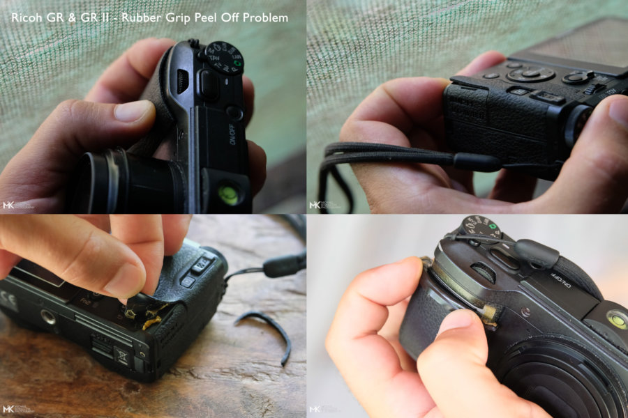 Ricoh-GR-II-Rubber-Grip-Peel-Off-Problem