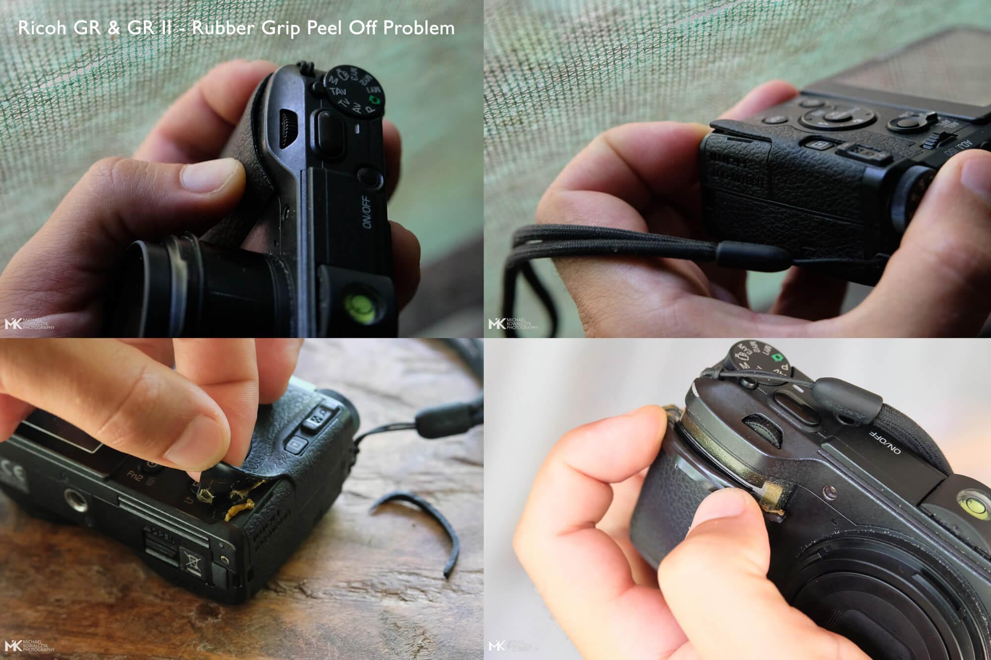 Ricoh-GR-II-Rubber-Grip-Peel-Off-Problem