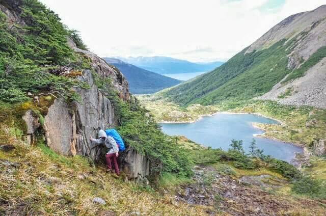Dientes de Navarino Trekking Laguna del Salto Climbing