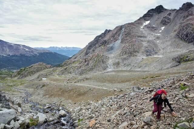 Dientes de Navarino Trekking Rocks