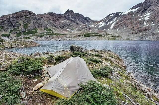 Dientes de Navarino Trekking Laguna Escondida Camping