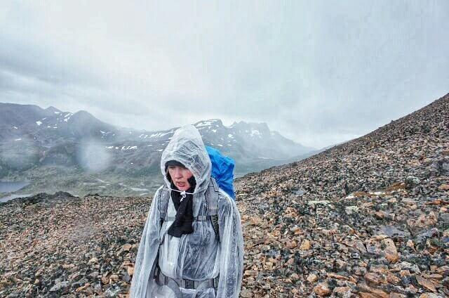 Dientes de Navarino Trekking Ventarron Pass Rain