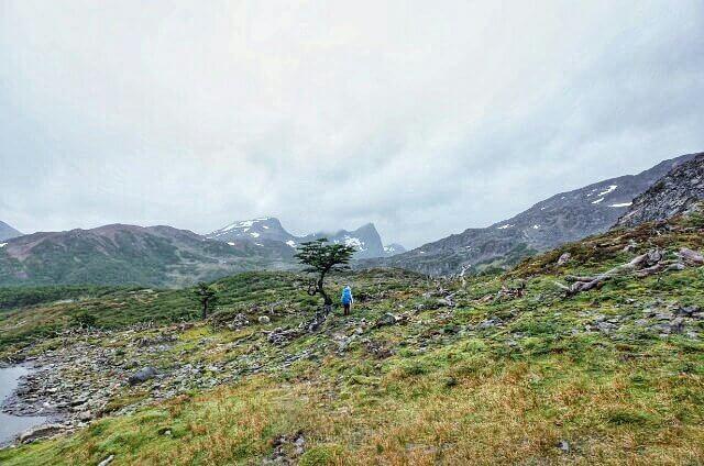 Dientes de Navarino Trekking Mud Field