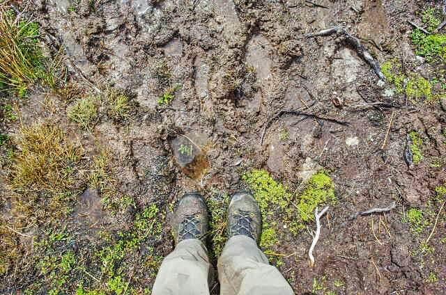 Dientes de Navarino Trekking Mud