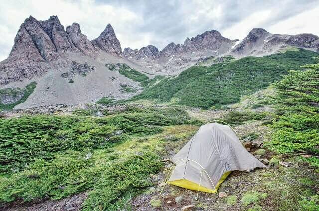Dientes de Navarino Trekking Tent Camping