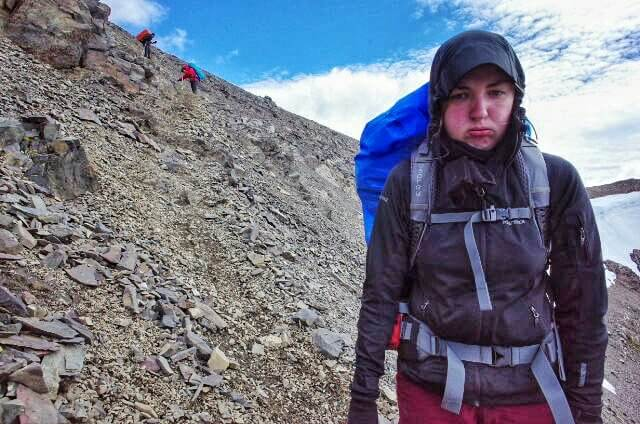 Dientes de Navarino Trekking Paso Virginia Descend