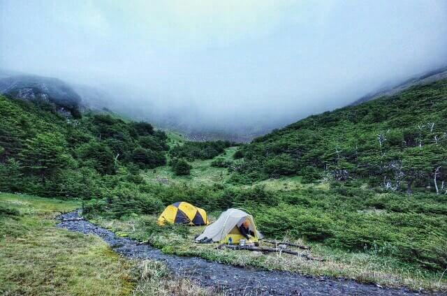 Dientes de Navarino Trekking Laguna de los Guanacos Lower Camping