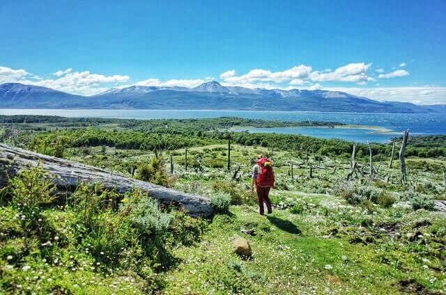 Dientes de Navarino Trekking Beagle Channel Panorama