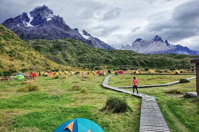 Campamento Paine Grande