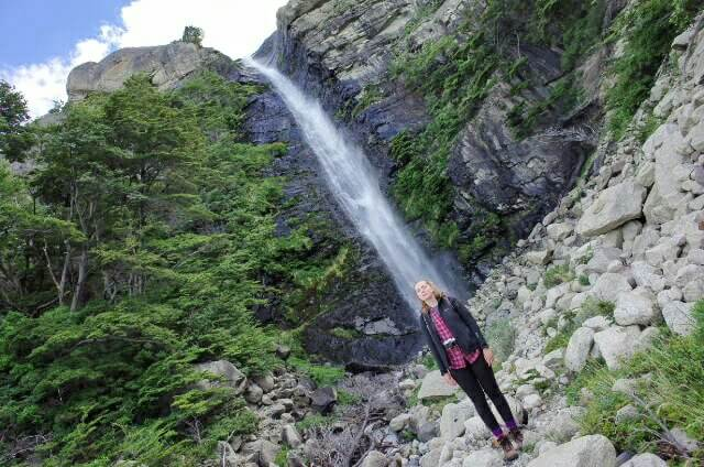 Waterfall Refugio Cuernos