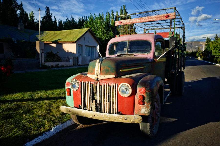 Los Antiguos Truck