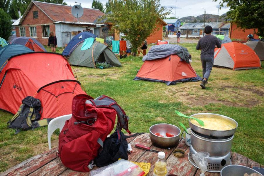 Chile Chico Camping Kon Aiken