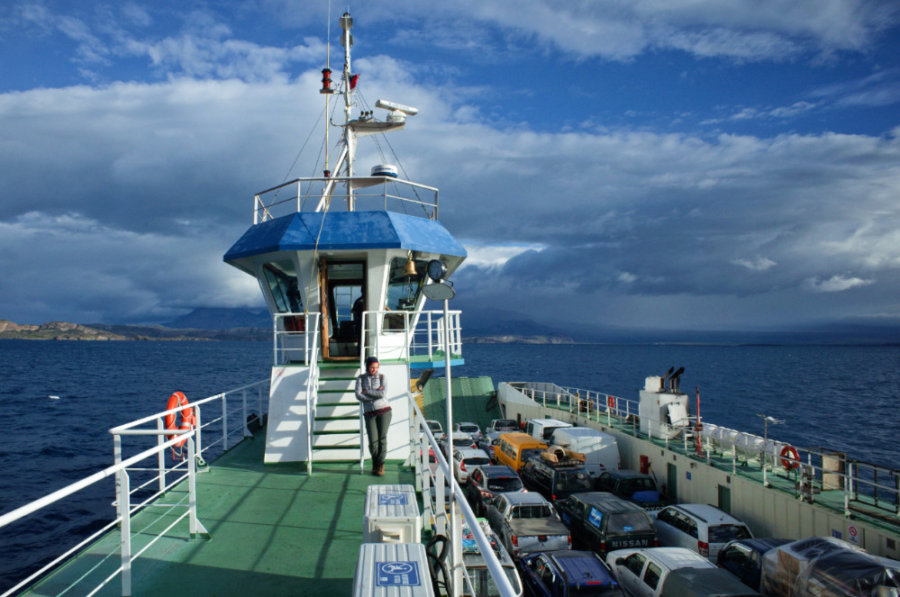 Chile Chico Ferry to Port Ibanez