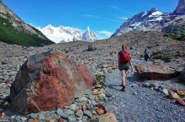 ig rock stone path to Laguna Torre Firtz Roy