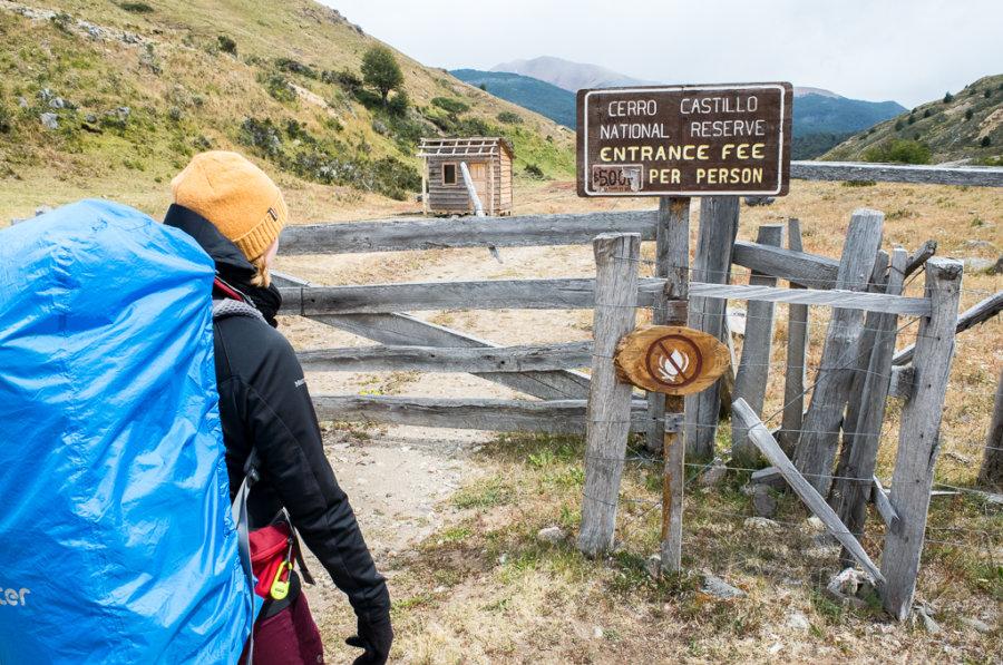 Cerro Castillo National Reserve Entrance Fee Ranger Station