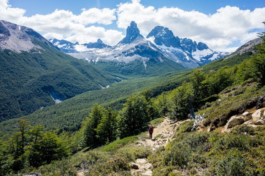 Cerro Castillo Trekking Descent to Campamento Porteadores