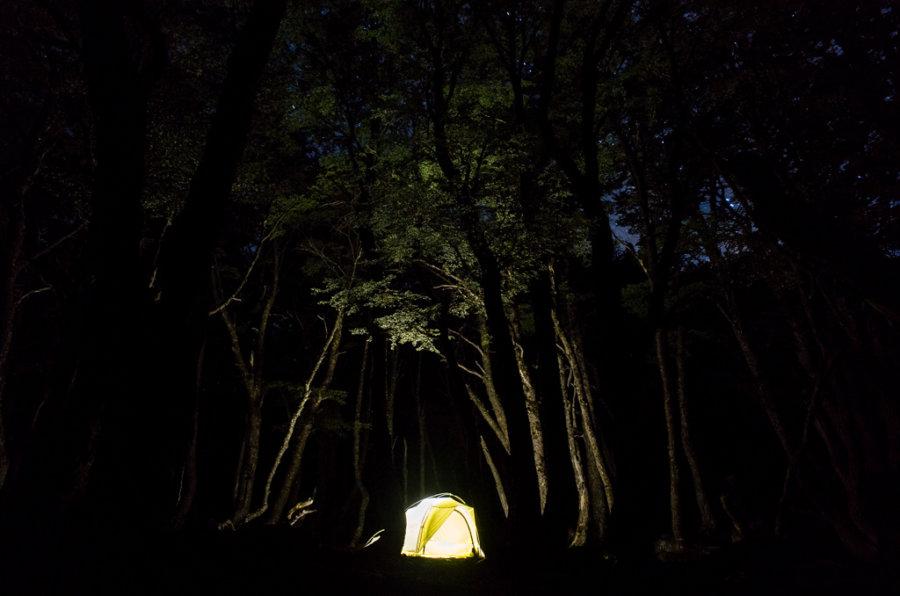Cerro Castillo Trekking Campamento Neozelandes Night