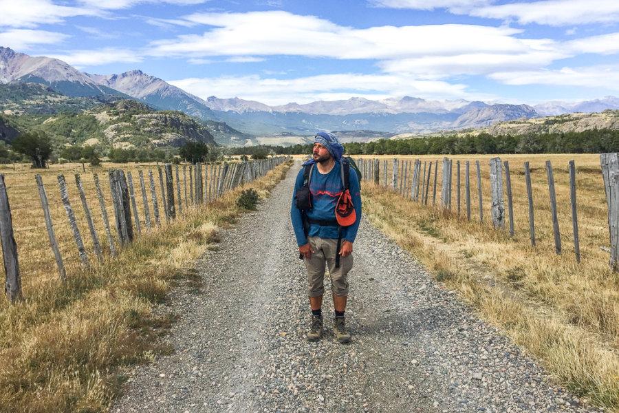 Cerro Castillo Trekking Road back to Villa Cerro Castillo