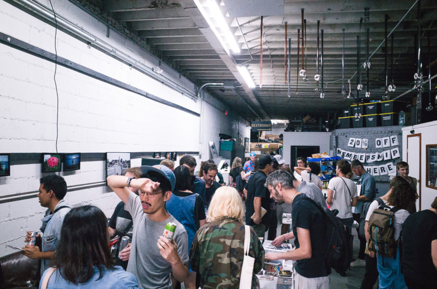 NYC-SPC Print and Zine Swap Bushwick Community Darkroom 2017