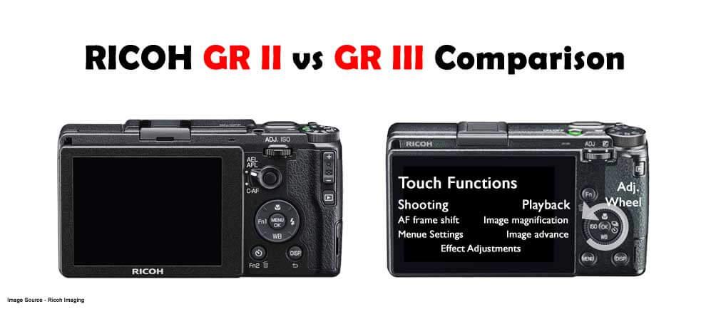 Ricoh GR II vs GR III Comparison