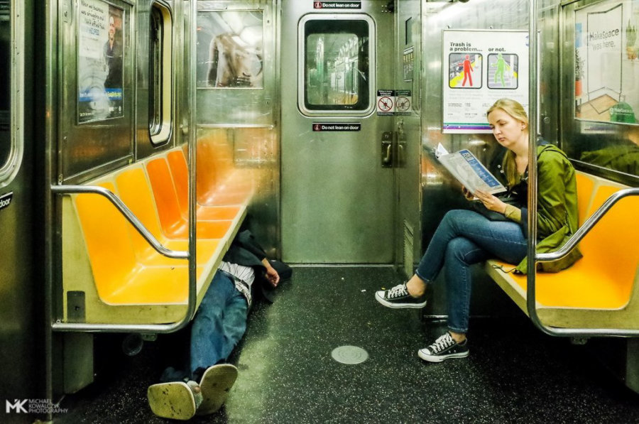 NYC Subway Street Photography