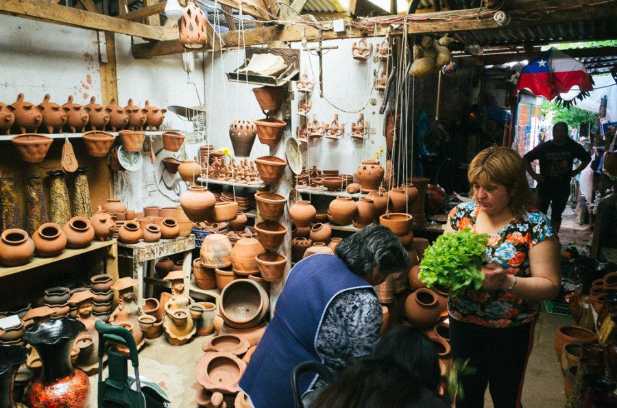 Pomaire Village Pottery Shop