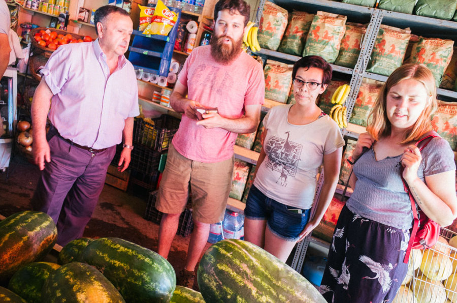 Buying Watermelons in Paine commune