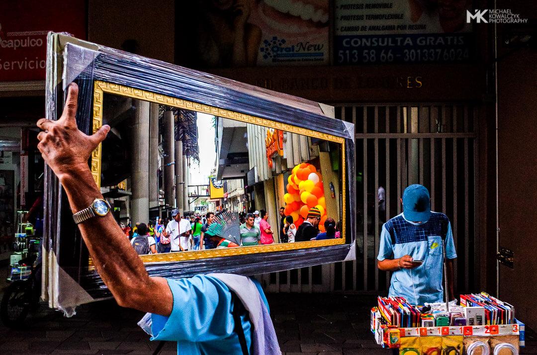 Medellin Mirror Colombia 2019 Michael Kowalczyk Photography