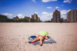 Coney Island Sunbather