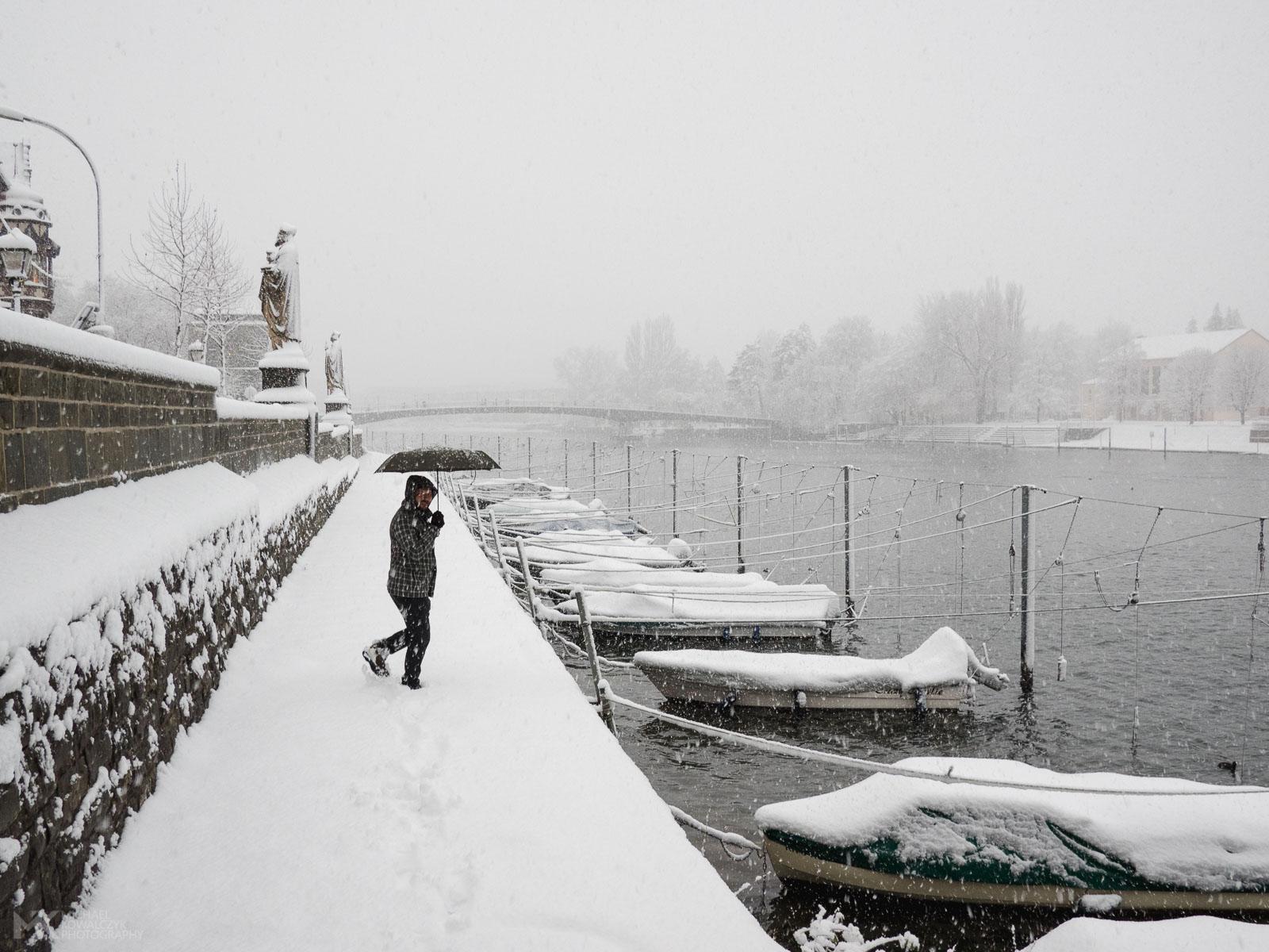 Konstanz in Snow