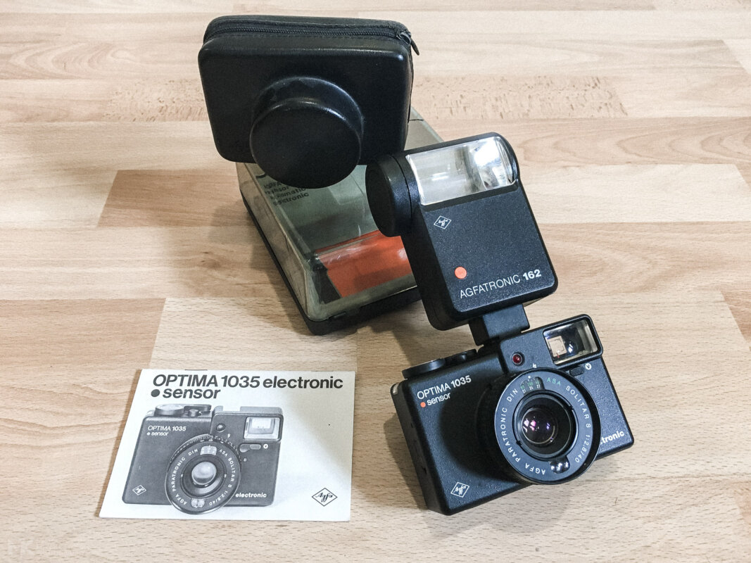 Agfa Optima Sensor 1035 electronic